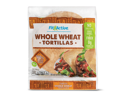 Fit & Active® Whole Wheat Tortillas