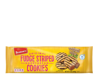 Benton's Original Fudge Striped Shortbread Cookies