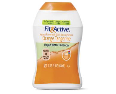 Fit and Active Orange Tangerine Liquid Water Enhancer