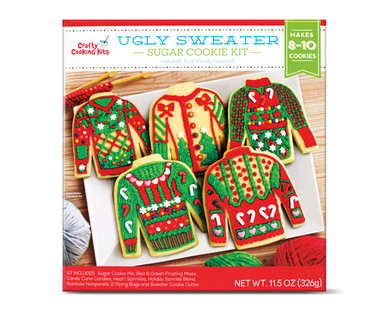 Crafty Cooking Kits Ugly Sweater Sugar Cookie Kit