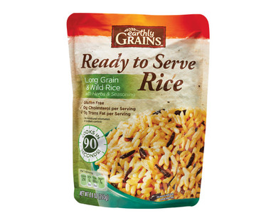 Earthly Grains Ready to Serve Long Grain & Wild Rice