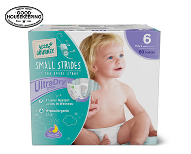 Little Journey Size 6 Club Pack Diapers