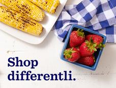 Shop differentli.