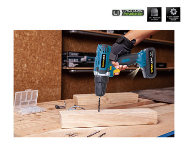 WORKZONE 12V Lithium-Ion Cordless Drill View 2