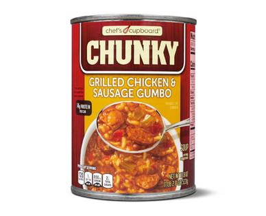 Chef's Cupboard Chunky Grilled Chicken & Sausage Gumbo