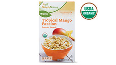 Simply Nature Organic Tropical Mango Passion Granola Cereal. View Details.