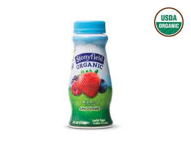 Stonyfield Organic Strawberry or Wildberry Yogurt Smoothies View 4