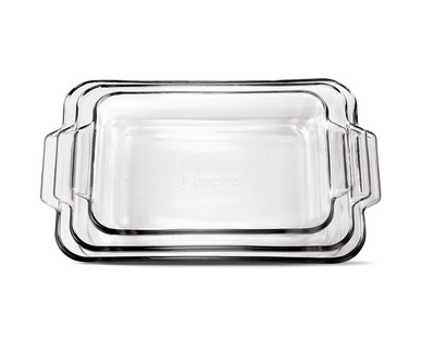 Crofton 3-Piece Glass Baking Dish Set View 1
