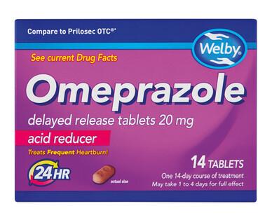 Welby Omeprazole Heartburn Relief