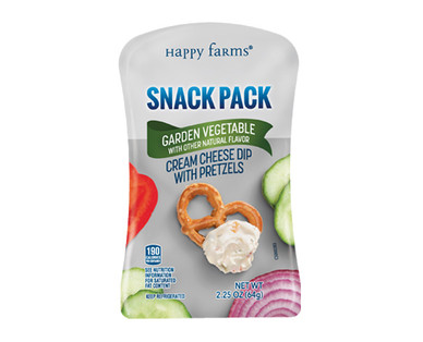 Happy Farms Garden Vegetable Cream Cheese Snack Pack