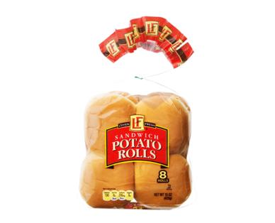 L'oven Fresh Potato Sandwich Rolls
