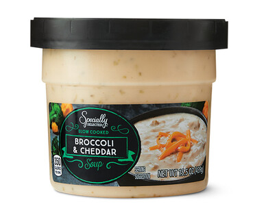 Specially Selected Slow Cooked Broccoli & Cheddar Soup