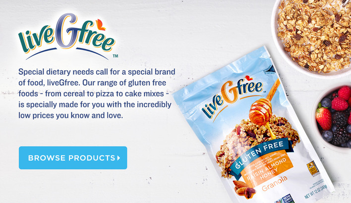 Live G Free, Gluten-Free Products