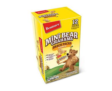 Benton's Honey Mini Bear Grahams Snack Packs