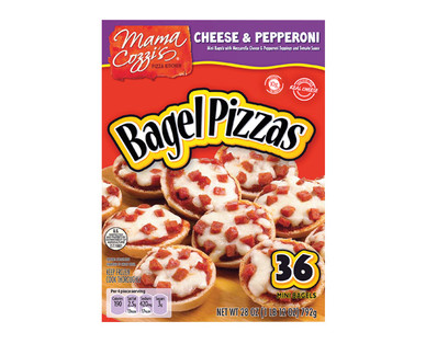 Mama Cozzi's Pepperoni Pizza Bagels