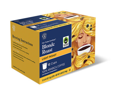 Barissimo Blonde Roast Coffee Cups
