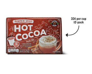 Beaumont Cocoa Pumpkin Spice or Salted Caramel Hot Cocoa Cups View 1