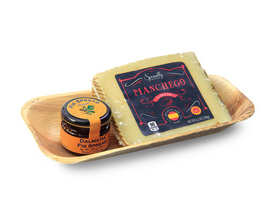 Specially Selected Paradiso Reserve or Manchego Cheese & Dalmatia Fig Spread View 2