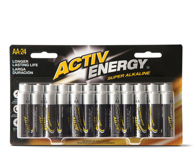 Activ Energy 24 Pack AA Batteries