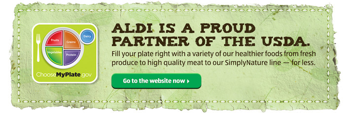ALDI is a Proud Partner of the USDA