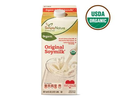 SimplyNature Organic Original Soymilk