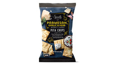 Specially Selected Parmesan, Garlic and Herb Pita Chips. View Details.