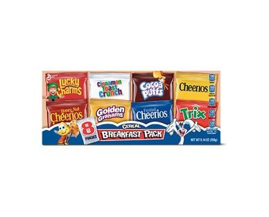 General Mills Breakfast Pack Cereal View 1