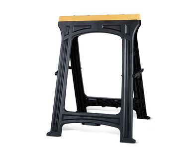 WORKZONE Foldable Sawhorse 2-Pack View 1