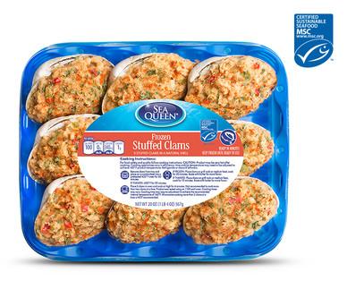 Sea Queen Stuffed Clams