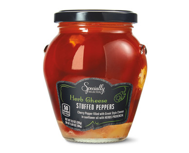 Specially Selected Herb Cheese Stuffed Cherry Peppers