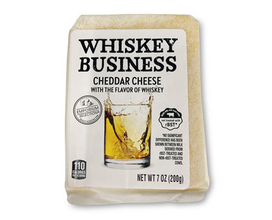 Emporium Selection Whiskey Business Cheddar Cheese