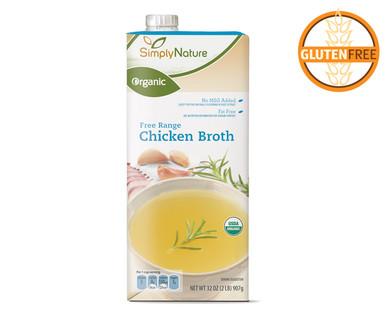 SimplyNature Organic Free Range Chicken Broth