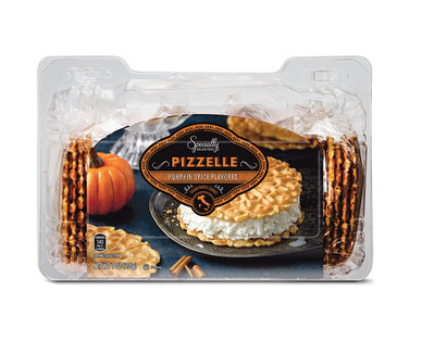 Specially Selected Pizzelle Cookies Apple Cinnamon or Pumpkin Spice View 2