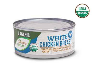 aldi us simply nature organic canned chicken