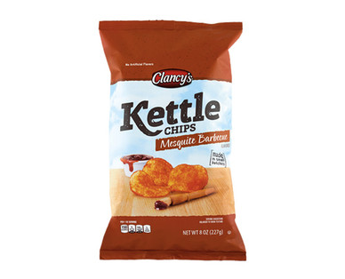 Clancy's Kettle Chips Mesquite Barbecue