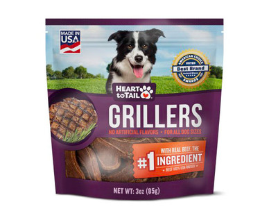 Heart to Tail Griller Dog Treats Beef