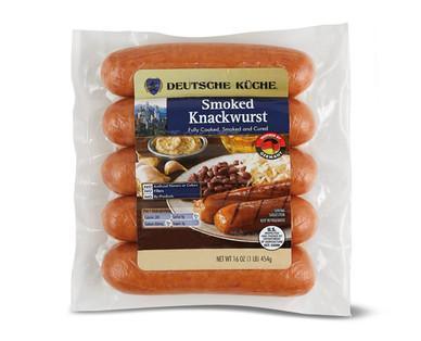 Deutsche Kuche Smoked Knackwurst