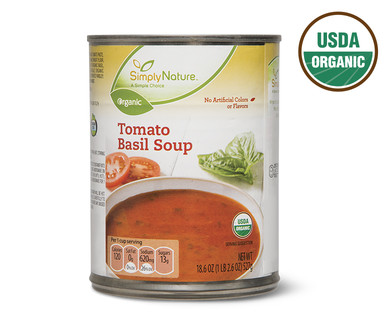 SimplyNature Organic Tomato Basil Soup
