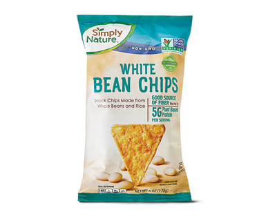 Simply Nature White Bean Chips