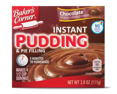 Baker's Corner Instant Chocolate Pudding
