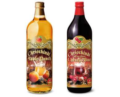 Christkindl Apple Punch & Mulled Cherry