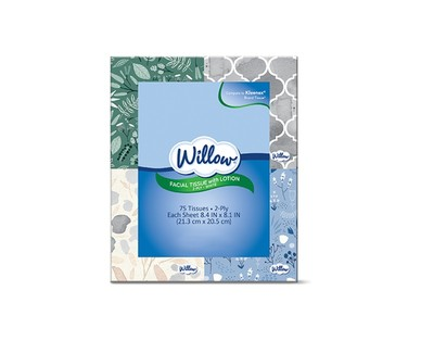 Willow Multi-Pack Facial Tissue View 1