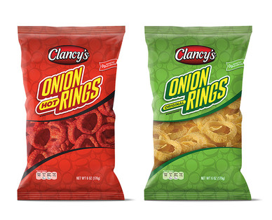 Clancy's Hot or Original Onion Snack Rings View 1