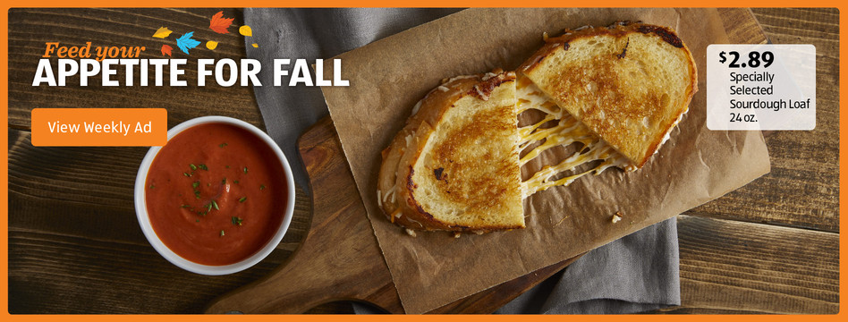 Feed your appetite for fall. Specially Selected Sourdough Loaf 24 oz. $2.89. View weekly ad.