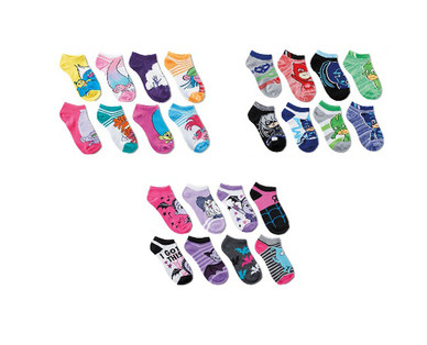 Children's Licensed 8 Pack Socks View 4
