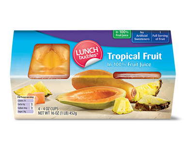 Lunch Buddies Fruit Bowl - Tropical Fruit