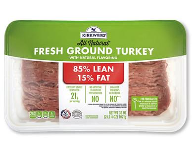 Kirkwood 85/15 Fresh Ground Turkey
