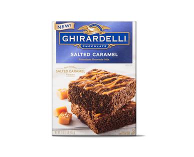 Ghirardelli Salted Caramel Brownie Mix