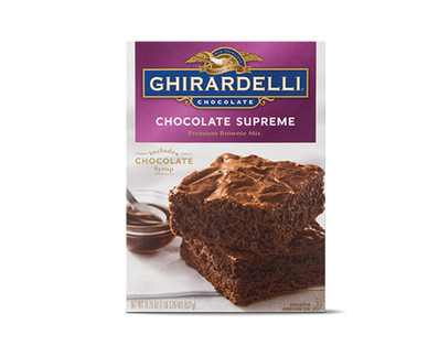 Ghiradelli Supreme Brownie Mix