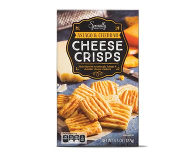 Specially Selected Asiago & Cheddar Cheese Crisps